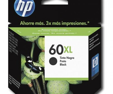 HP Black 60XL High-Yield Ink Cartridge