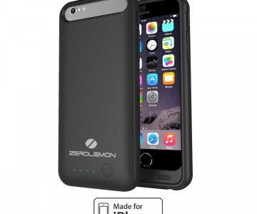 ZeroLemon iPhone 6 Battery Case 3100mAh Slim Juicer $16 at Amazon