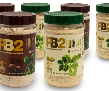 PB2 Powdered Peanut Butter; 6-Pack of 1lb. Jars + 5% Back in Groupon Bucks. Multiple Flavors $39.99